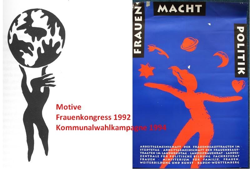 1992 und 1994 - MIT MACHT IN DIE ZUKUNFT