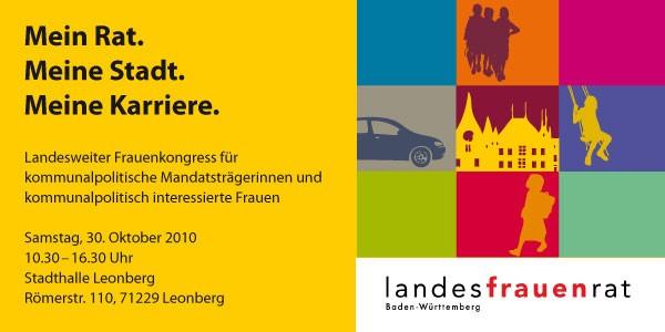 2010 — 4.Landestreffen des LFR und seiner Bündnispartnerinnen für kommunalpolitisch interessierte Frauen