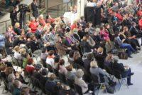 2012 - Frauen im Landtagsfoyer fordern Parité