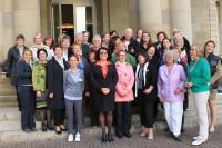 Vertreterinnen der Landesfrauenräte am 22.9.2012