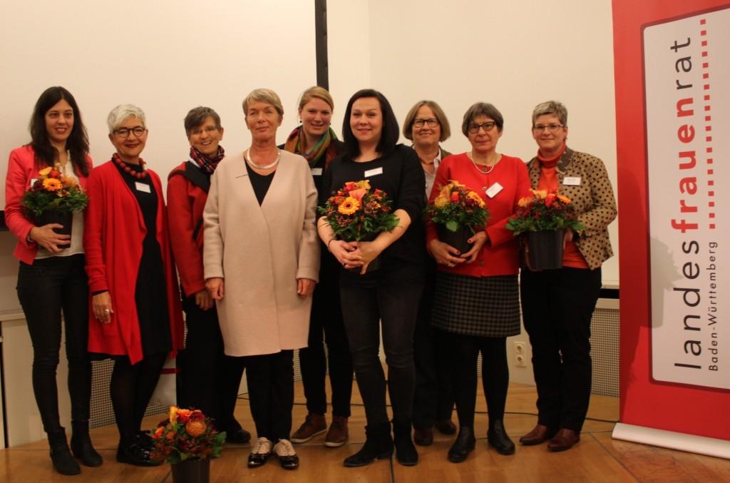 LFR-Vorstandsteam für 2018 bis 2020 hat seine Arbeit aufgenommen: Charlotte Schneidewind-Hartnagel und Sakia Ulmer neue Vorsitzende