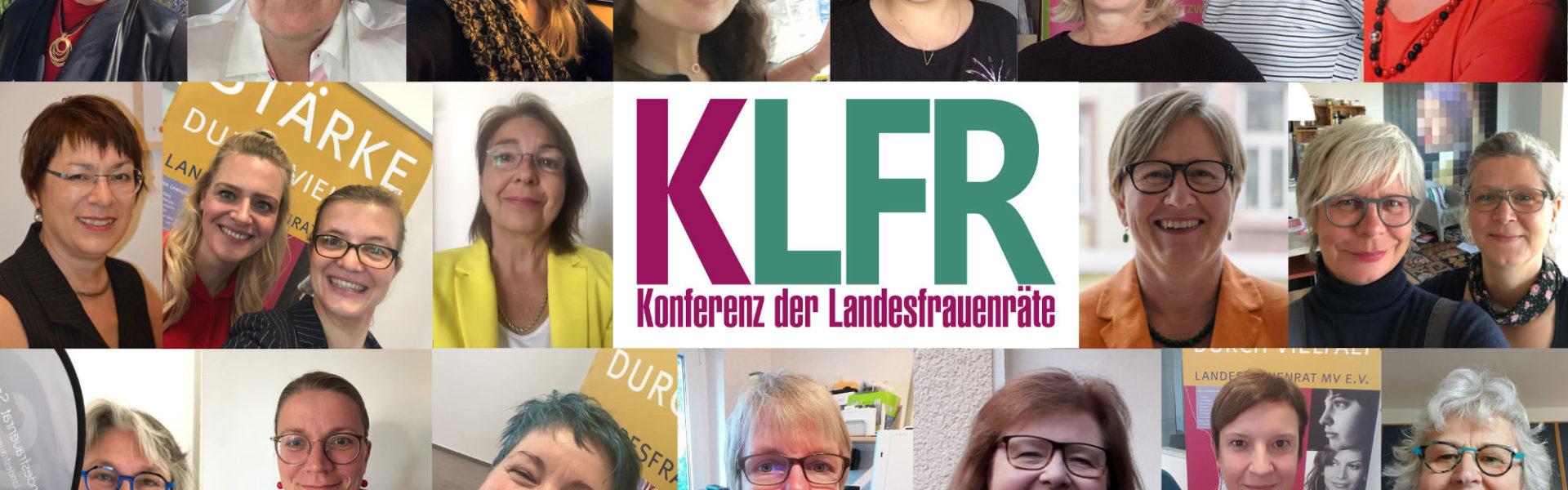 Pressemitteilung der Konferenz der Landesfrauenräte KLFR 2020: Geschlechtergerecht aus der Krise