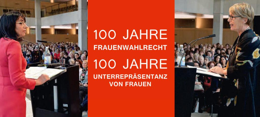 Kampagne 100 Jahre Frauenwahlrecht in Baden-Württemberg (2018/2019)