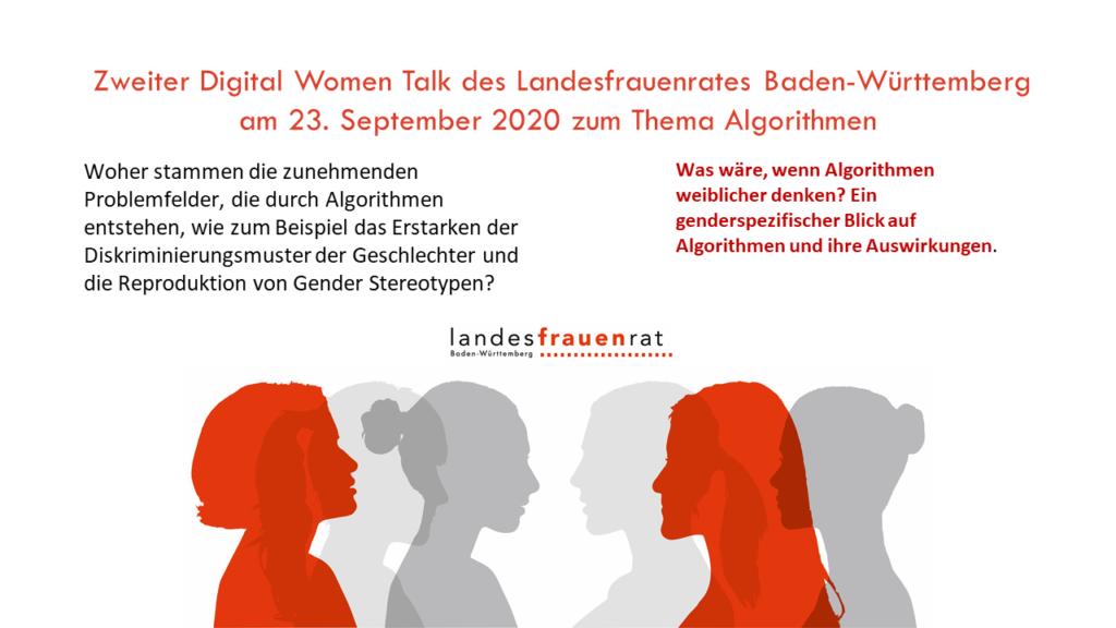 Zweiter Digital Women Talk zum Thema Algorithmen