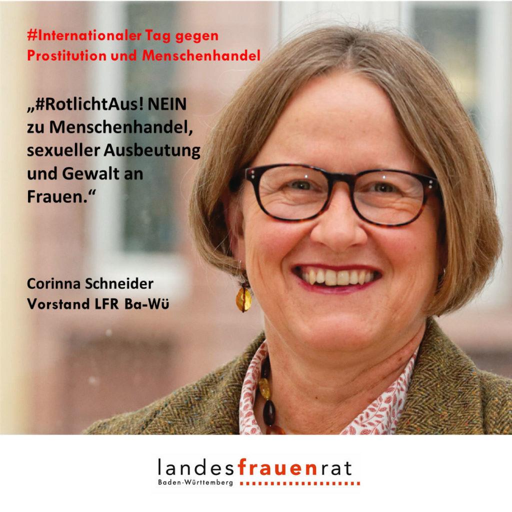 Corinna Schneider - Internationaler Tag gegen Prostitution und Menschenhandel