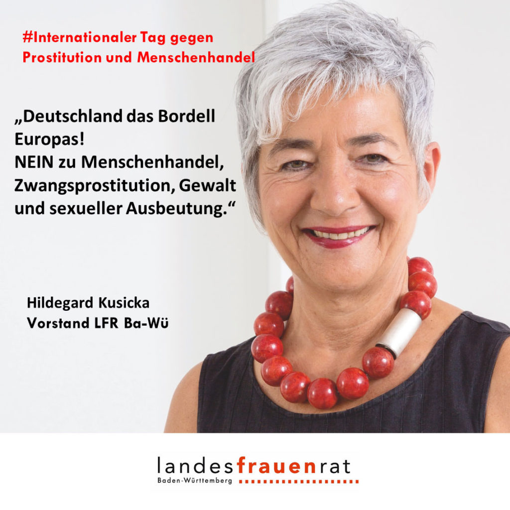 Hildegard Kusick - Internationaler Tag gegen Prostitution und Menschenhandel