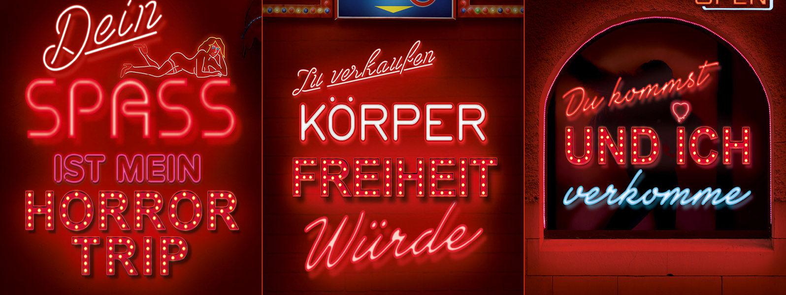 Nordisches Modell - JETZT! - Kampagne #rotlichtaus